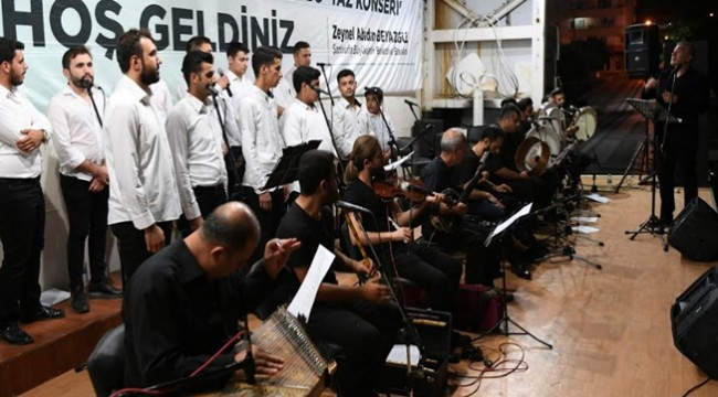 Haliliye'de Tasavvuf Konseri
