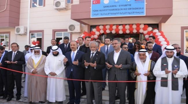 Kuveytli Hayırseverlerin Yaptığı İki Okul Daha Törenle Açıldı