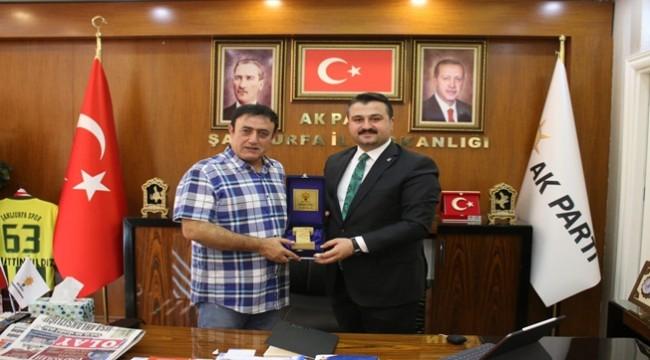 Mahmut Tuncer Ak Parti Şanlıurfa'yı Ziyaret Etti