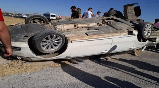 Müdür Özbilek Trafik Kazası Geçirdi
