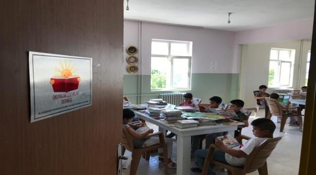 Okuyacak Çocuklar Derneğinden Suruç'a Kütüphane
