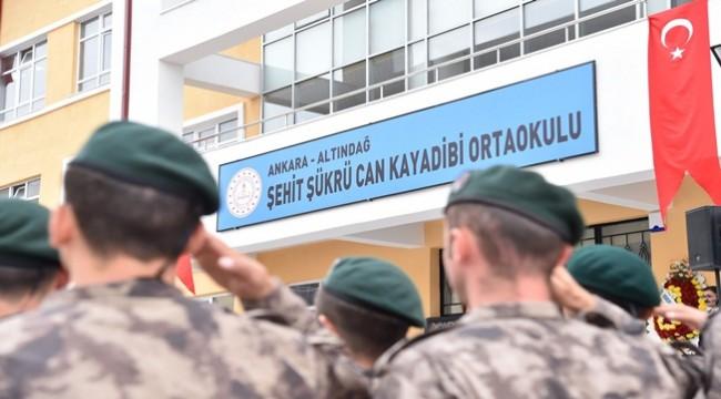 Şehit Kayadibi'nin İsmi Altındağ'da Yaşayacak