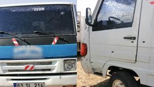 Seyir Halindeki Kamyonete Silahlı Saldırı