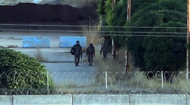 Silahlı Teröristler Sınırında Görüntülendi