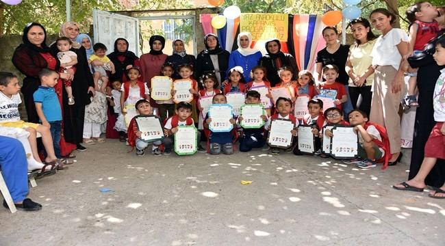Siverek'te yaz anaokulları kapanış etkinliği yapıldı