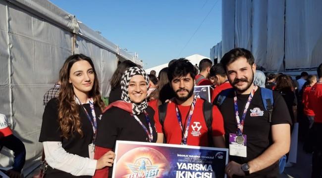 Teknofest 2019'da Harran Üniversitesi 2.Oldu