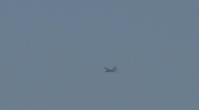 Telabyad'da Kargo Uçağı Görüntülendi