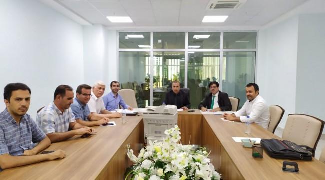 Urfa Meb'de Zararlı Alışkanlıklar Toplantısı Yapıldı