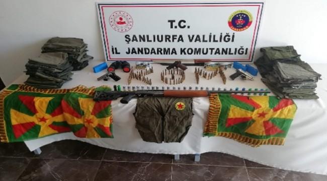 Viranşehir'de Terör Operasyonu 5 Gözaltı