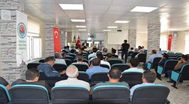 Yemyeşil Urfa Projesi için Viranşehir'de Toplantı