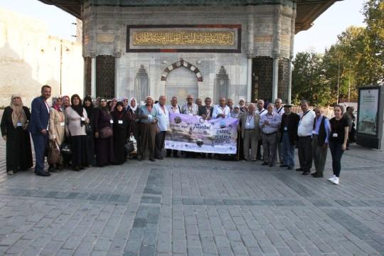 Yeşeren çınarlara İstanbul gezisi