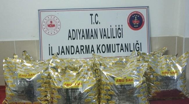 70 Kilo Kaçak Çay Ele Geçirildi