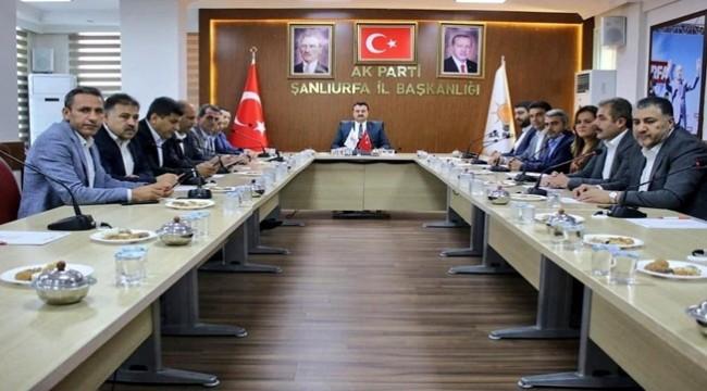 Ak Parti Başkanları Barış Pınarı Harekatını Değerlendirdi