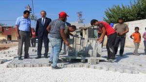 Akçakale Belediyesi Çalışmalarına Devam Ediyor