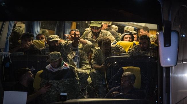 Çok Sayıda Suriye Milli Ordusu Akçakale'ye Sevk Edildi