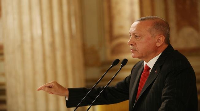 Cumhurbaşkanı Erdoğan , Geri Adım Atmayacağız