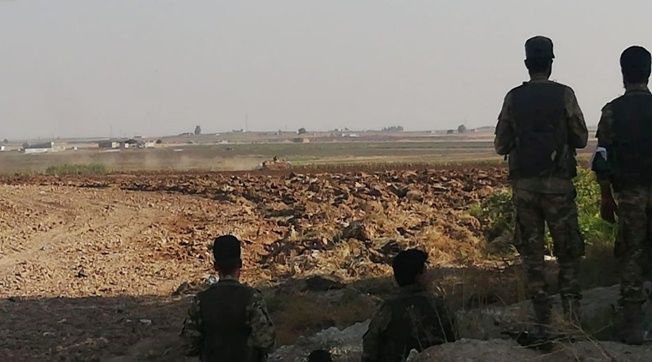 Darbasiyah kasabası kontrol altına alındı