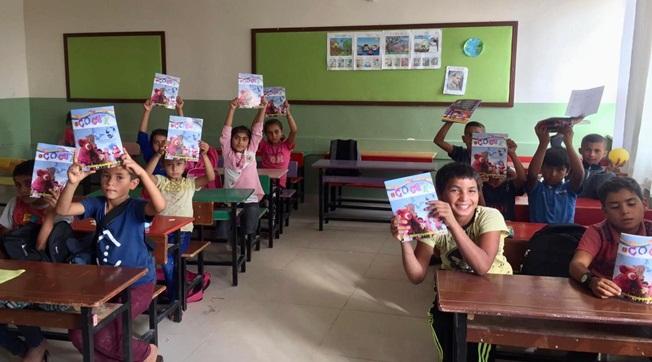 Elazığ'dan Harranlı Öğrencilere Dergi