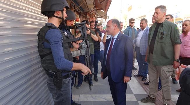 Emniyet Müdürü Aktaş Ceylanpınar'ı Ziyaret Etti