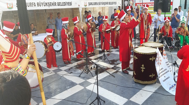 Engelli Mehteran Takımından Mehmetçiğe Destek