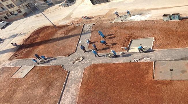 Eyyübiye'de 17 Yeni Park Yapımına Başlanıldı