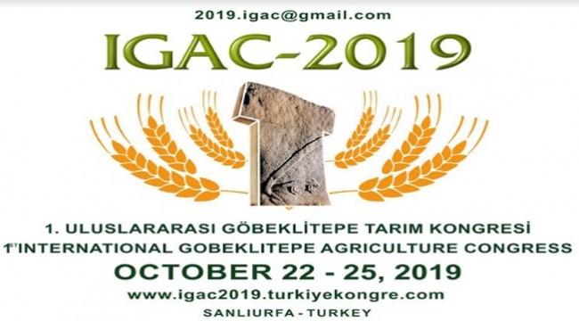HRÜ Göbeklitepe Tarım Kongresine Ev Sahipliği Yapacak