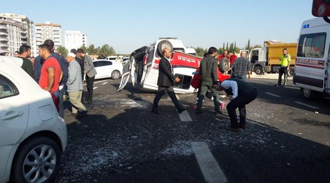 Karaköprü'de Kaza 6 Yaralı