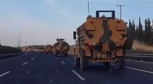 Şanlıurfa'ya Askeri Sevkıyatlar Devam Ediyor