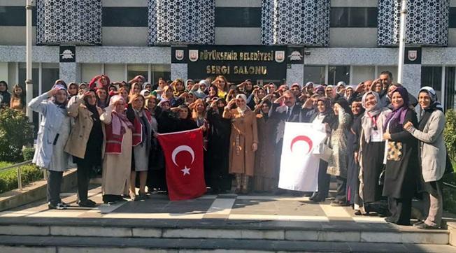 Şanlıurfalı Ak Kadınlar Mehmetçiğe Selam Yolladı