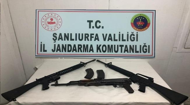 Siverek'te 3 Uzun Namlulu Silah Ele Geçirildi