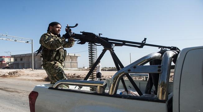 Suriye Milli Ordu Askerleri Sınıra Gitti