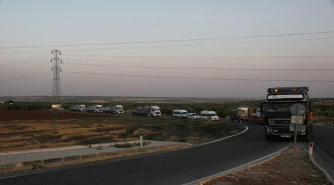 Suriye Milli Ordusu Askerleri Urfa'ya Gönderildi