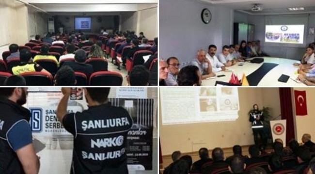 Urfa'da Bir Yılda 554 Kişi Uyuşturucudan Tutuklandı