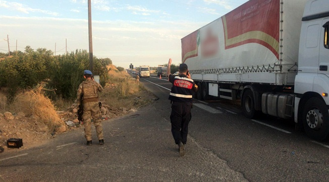Urfa'da Jandarma Kaza Yaptı 16 Asker Yaralandı