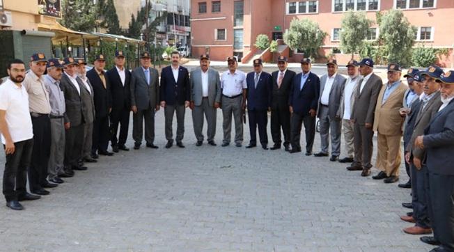 Urfalı Gaziler Kıbrıs'a Gönderildi