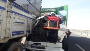 Viranşehir'de Kaza 1 Kişi Yaralandı