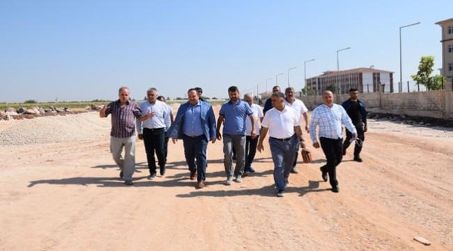 Viranşehir'de Yapılması Gerek Yolları Gezdiler