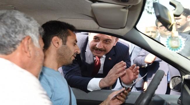 Yaya Geçidi Nöbeti uygulaması Urfa'da Yapıldı