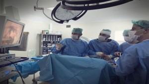 Akçakale'de Dış Gebelik Ameliyatı Yapıldı