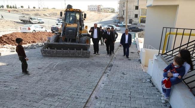 Canpolat Ahmet Yesevi Mahallesini İnceledi