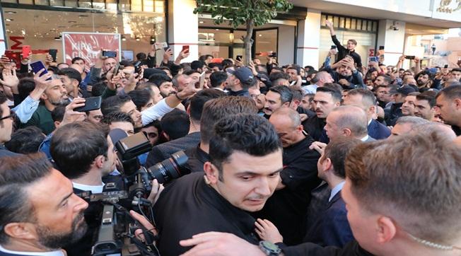 Cumhurbaşkanı Erdoğan'a Yoğun İlgi
