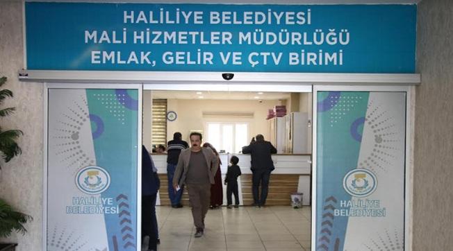 Haliliye'de Hafta Sonu Vezneler Açık Olacak