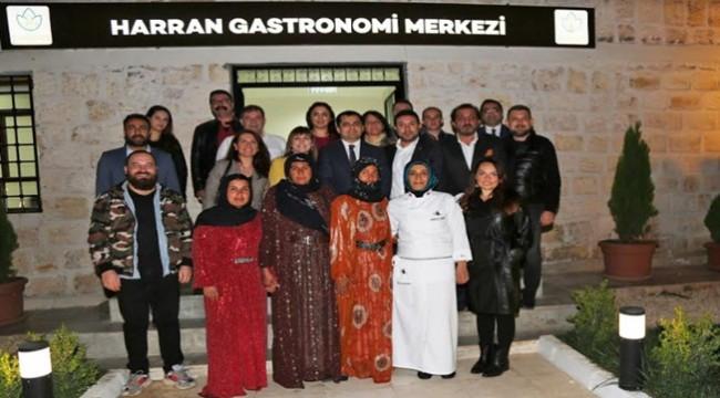Harran Gastronomi Merkezi Ünlü Şefleri Ağırladı
