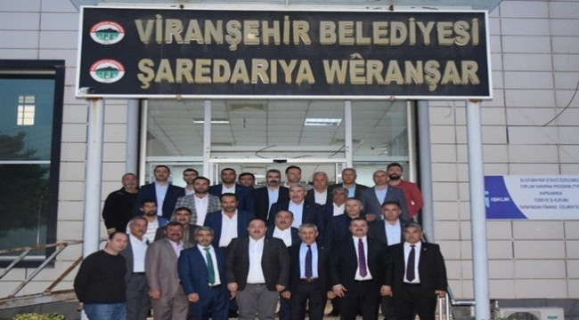Karasayar Viranşehir Belediyesini Ziyaret Etti