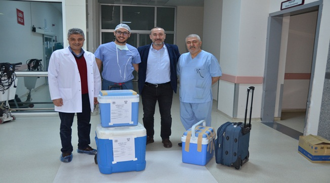 Malatya'dan Şanlıurfa'ya Karaciğer Nakli