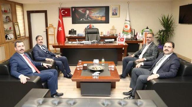 Merkez İlçe Belediye Başkanlarından Kırıkçı'ya Ziyaret
