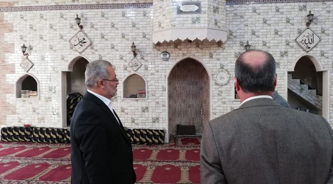 Müftü Taştan Resulayn'da Camilerin Durumunu İnceledi
