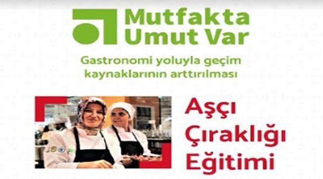 Urfa'da Aşçı Çıraklığı Eğitimi Başlıyor