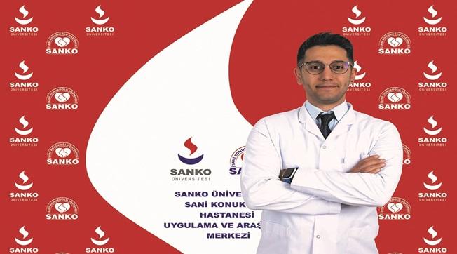 Dr. Çağdaş Demiroğlu Sanko Üniversitesinde