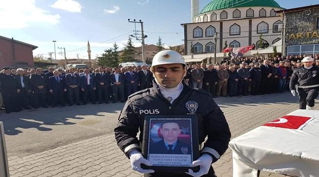 Polis Memuru Yunus Emre Güngör Son Yolculuğuna Uğurlandı